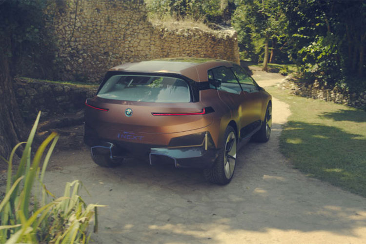 Xe sang chay dien BMW Vision iNext concept lo dien-Hinh-4