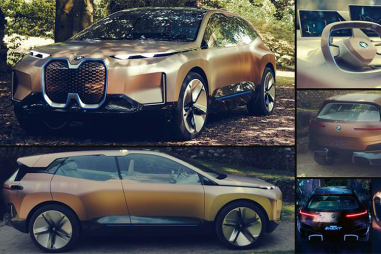 Xe sang chay dien BMW Vision iNext concept lo dien-Hinh-8