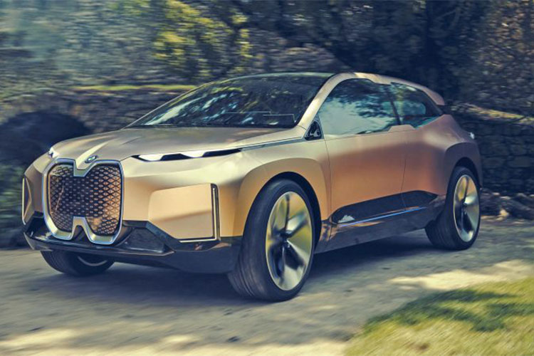 Xe sang chay dien BMW Vision iNext concept lo dien
