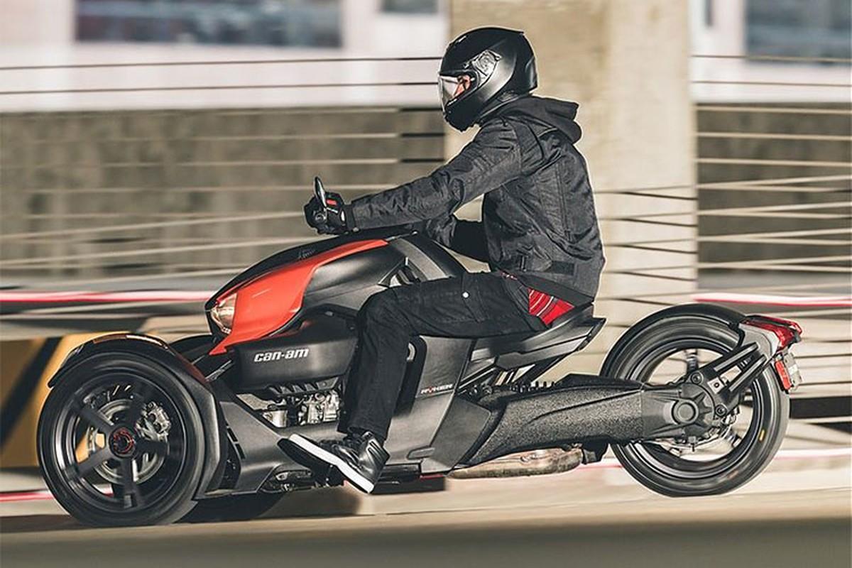 Sieu moto 3 banh Can-Am Ryker chot gia tu 197 trieu dong-Hinh-12