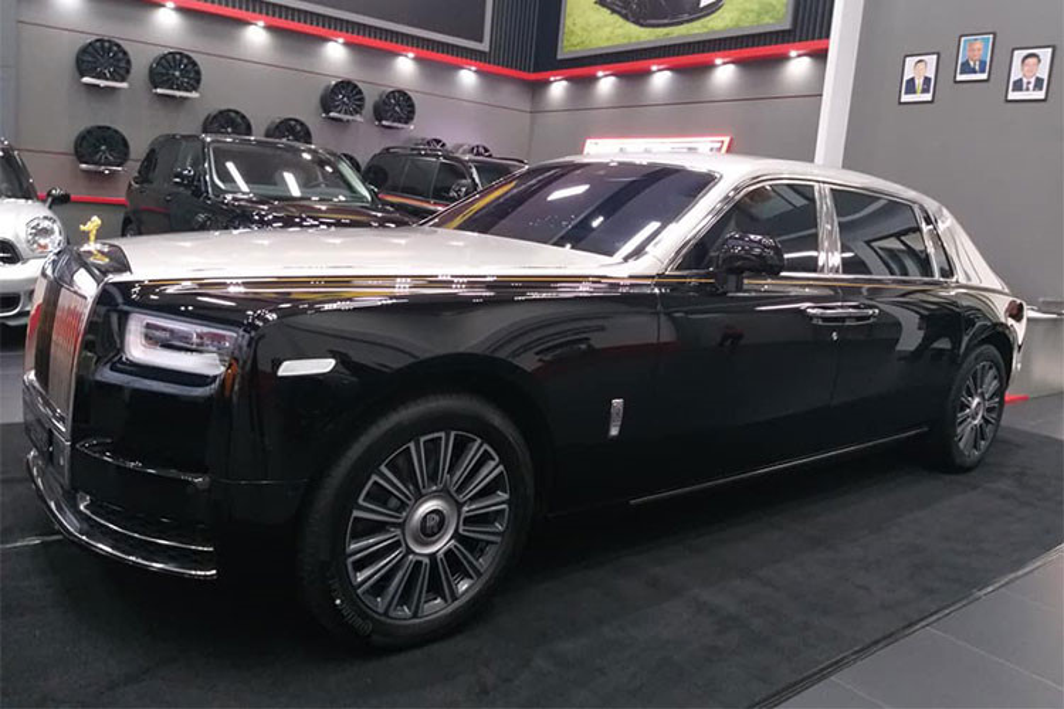Dai gia Viet tai Lao tau sieu xe sang Rolls-Royce Phantom 2018-Hinh-4