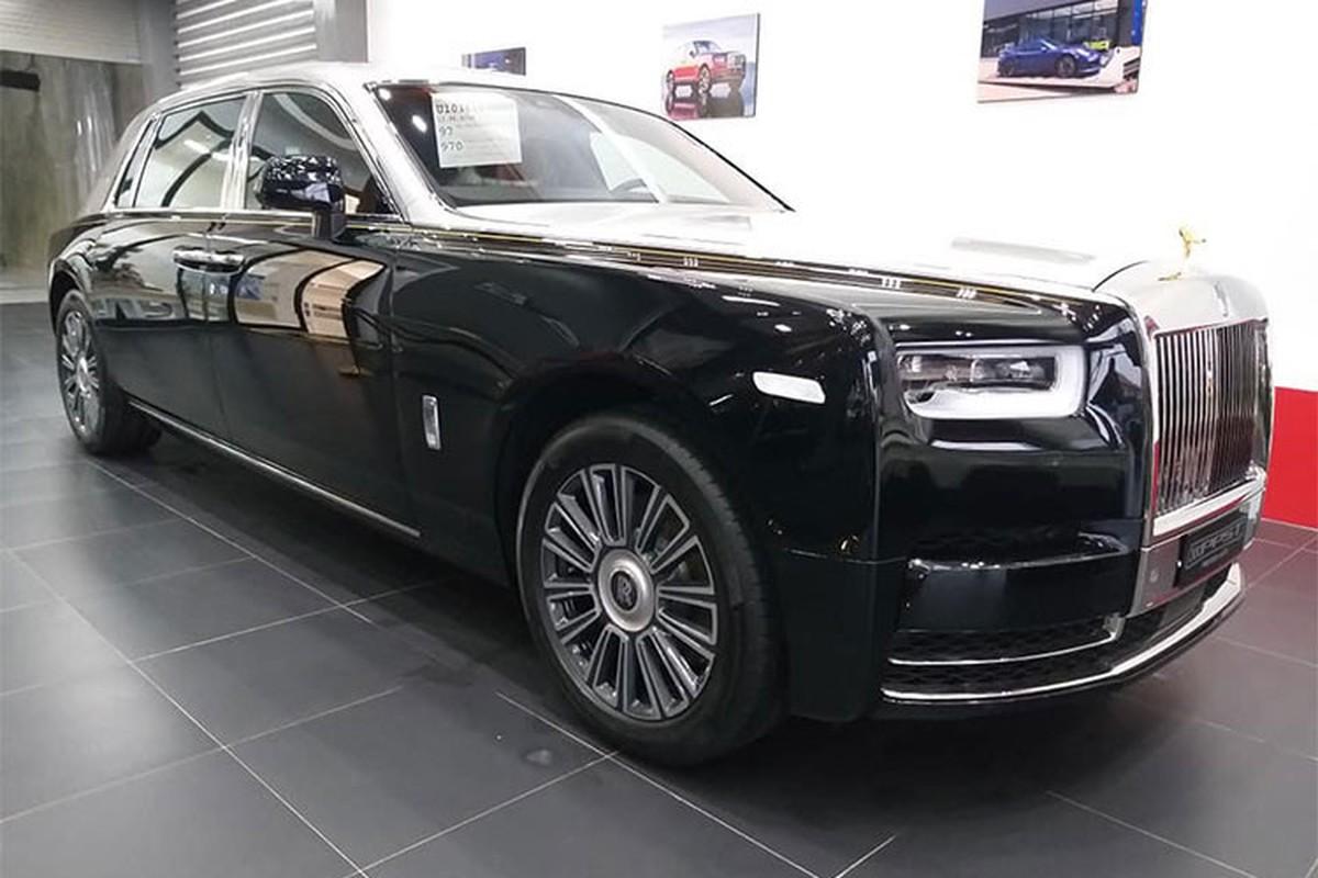 Dai gia Viet tai Lao tau sieu xe sang Rolls-Royce Phantom 2018