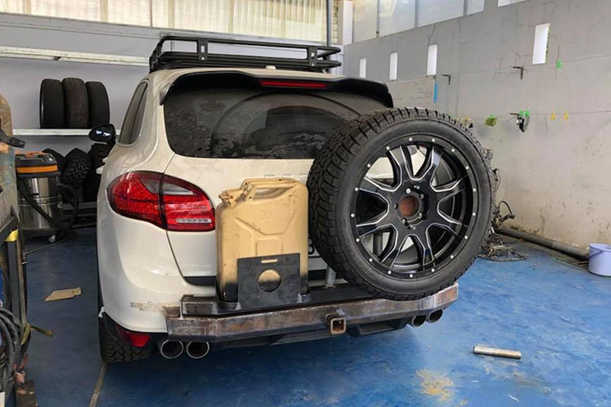 Dan choi Viet do Porsche Cayenne tien ty thanh xe off-road-Hinh-2