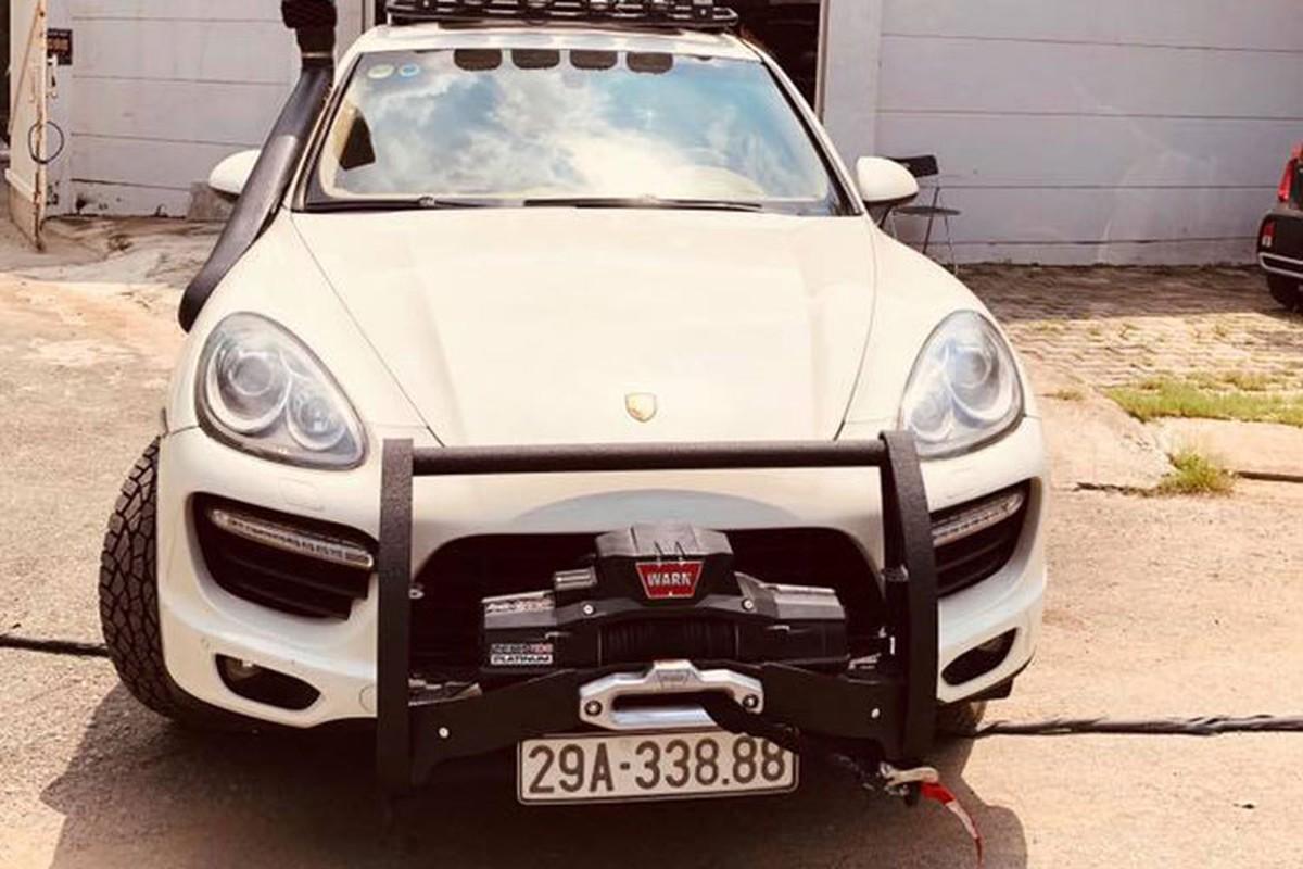 Dan choi Viet do Porsche Cayenne tien ty thanh xe off-road-Hinh-3