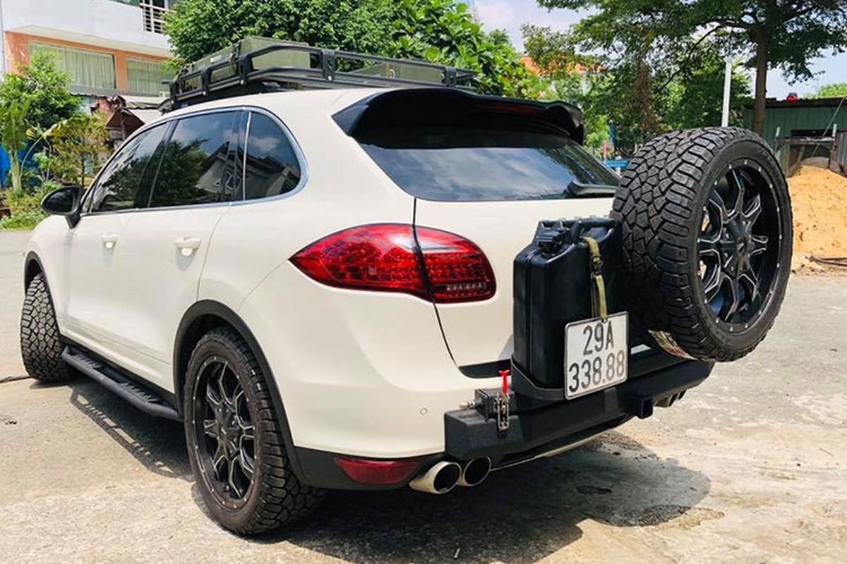 Dan choi Viet do Porsche Cayenne tien ty thanh xe off-road-Hinh-4