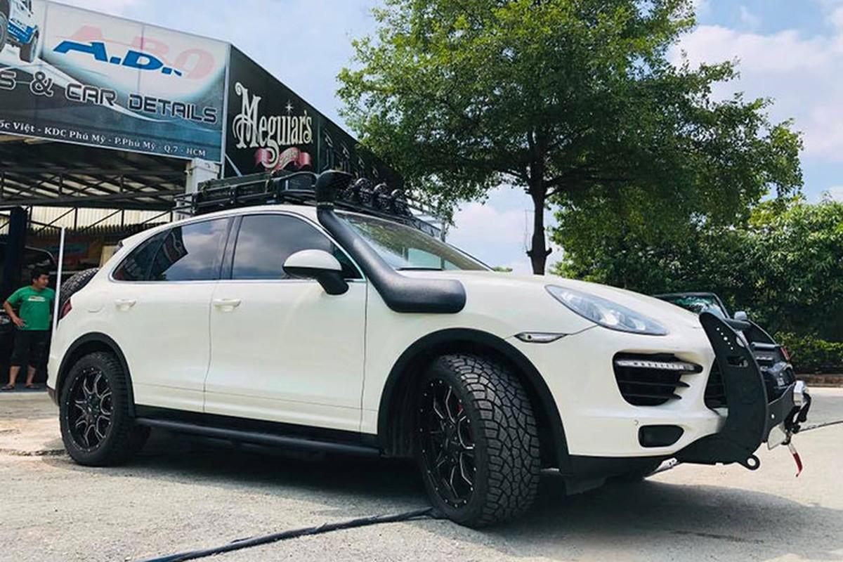 Dan choi Viet do Porsche Cayenne tien ty thanh xe off-road-Hinh-7
