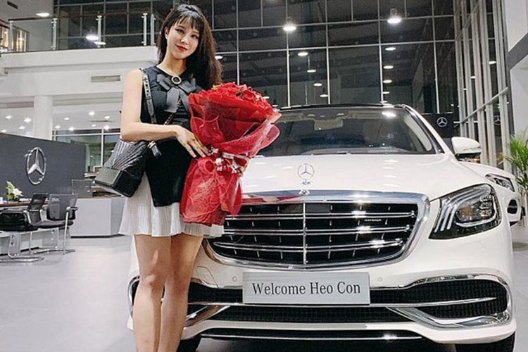 Diep Lam Anh tau Mercedes-Maybach S450 hon 7 ty dong