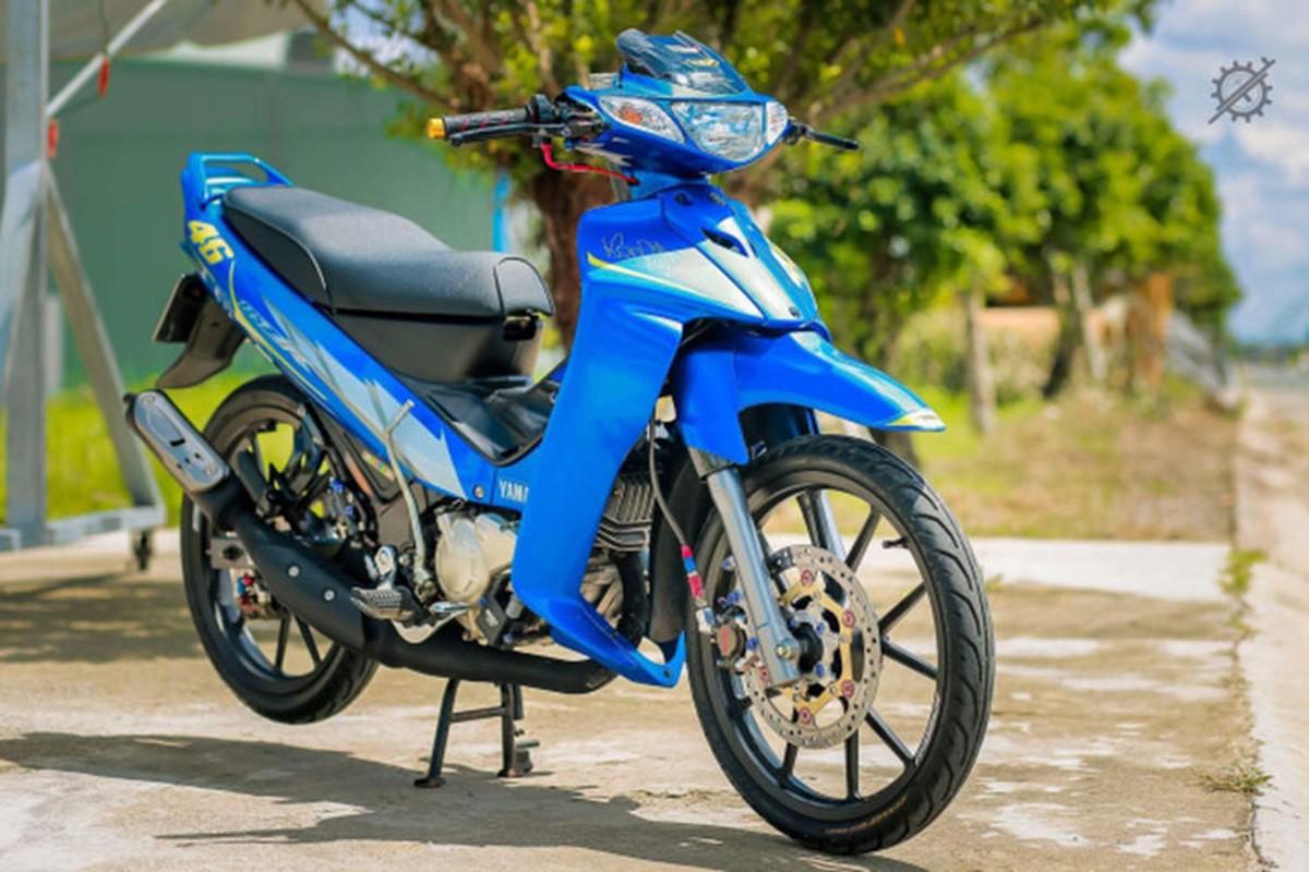 Chi tiet xe may Yamaha Z125 do nua ty dong o mien Tay-Hinh-10