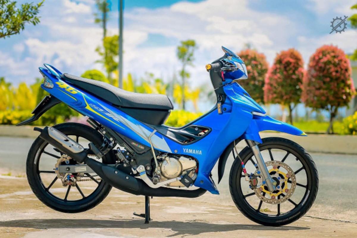 Chi tiet xe may Yamaha Z125 do nua ty dong o mien Tay-Hinh-2