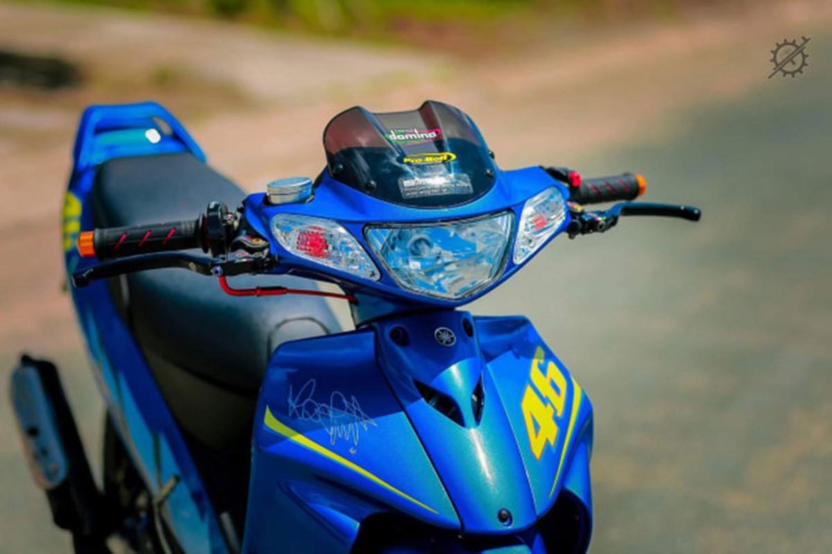 Chi tiet xe may Yamaha Z125 do nua ty dong o mien Tay-Hinh-3