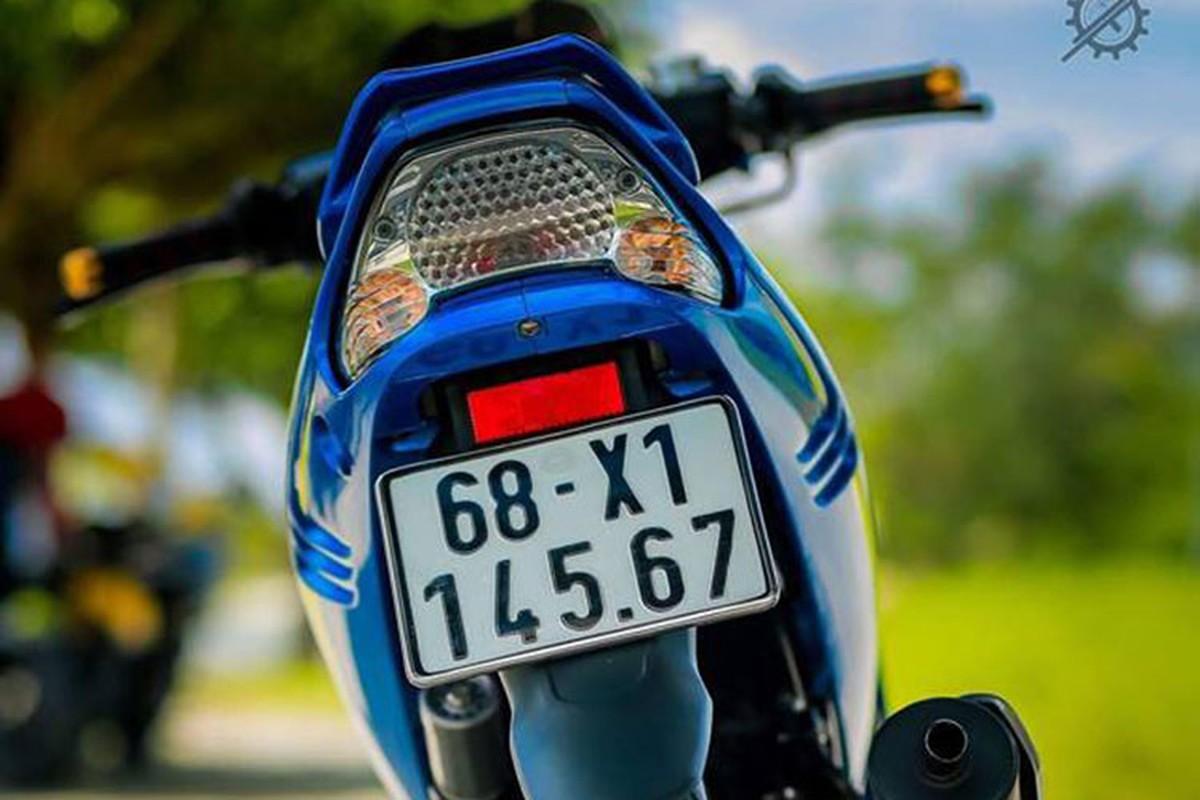 Chi tiet xe may Yamaha Z125 do nua ty dong o mien Tay-Hinh-5