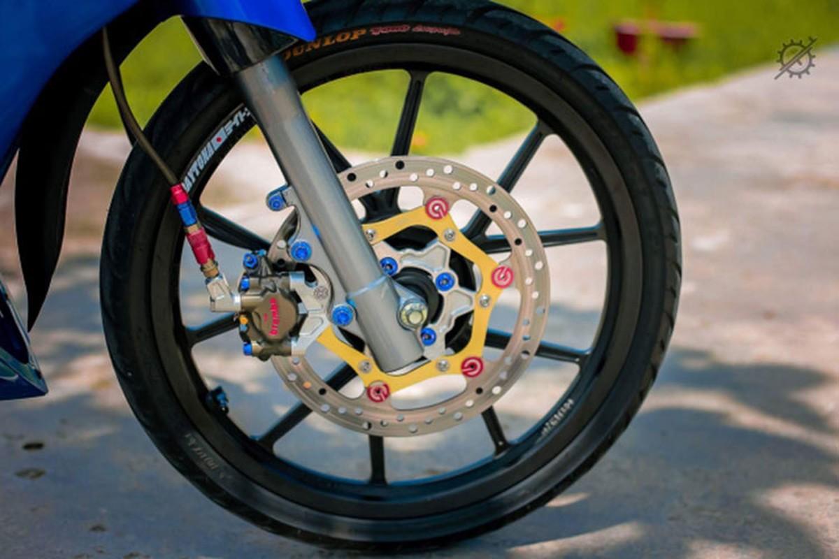 Chi tiet xe may Yamaha Z125 do nua ty dong o mien Tay-Hinh-6