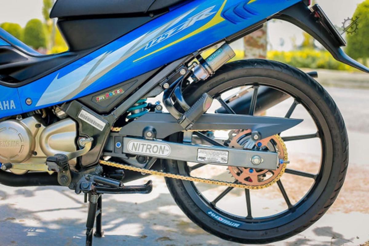 Chi tiet xe may Yamaha Z125 do nua ty dong o mien Tay-Hinh-7