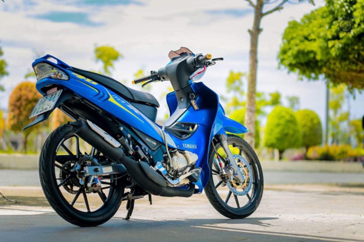 Chi tiet xe may Yamaha Z125 do nua ty dong o mien Tay-Hinh-9