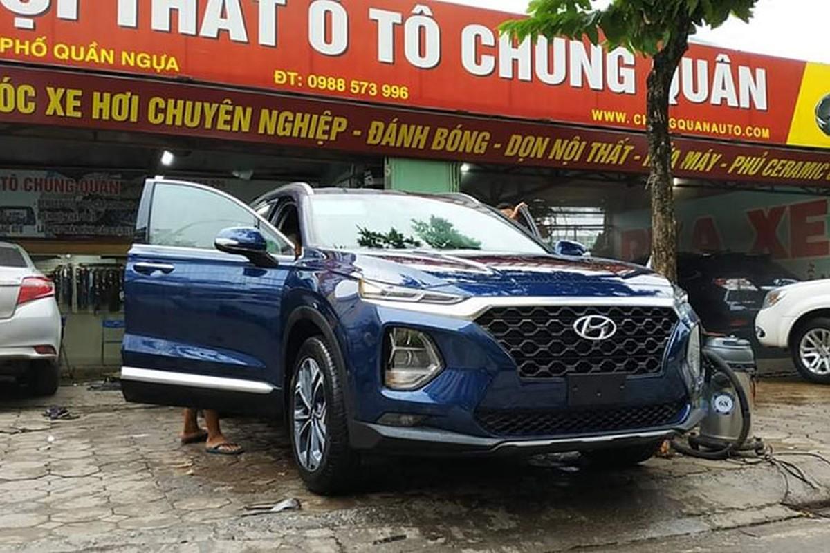 Hyundai SantaFe 2019 bat ngo di