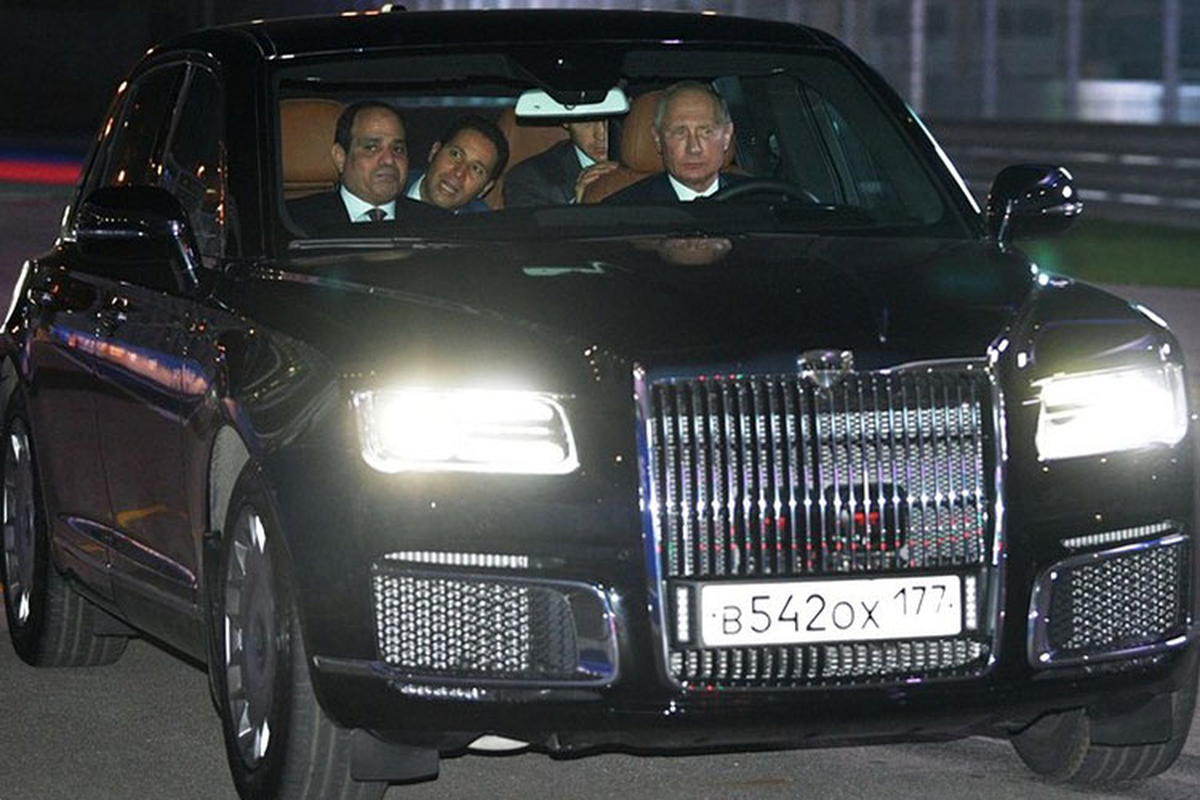 Xe Aurus hang sang Tong thong Nga Putin cam lai co gi?