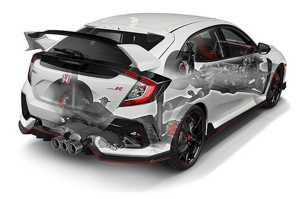 Honda Civic Type R tien ty se co mat tai VMS 2018-Hinh-11