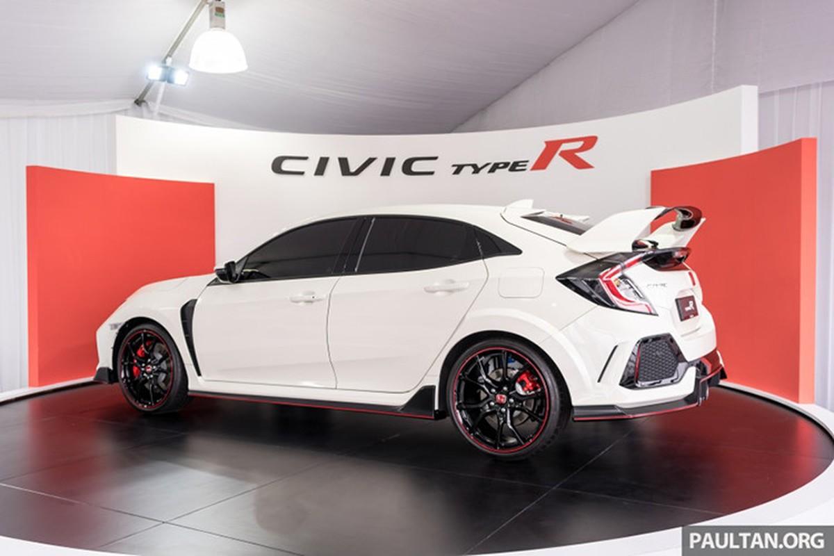 Honda Civic Type R tien ty se co mat tai VMS 2018-Hinh-2