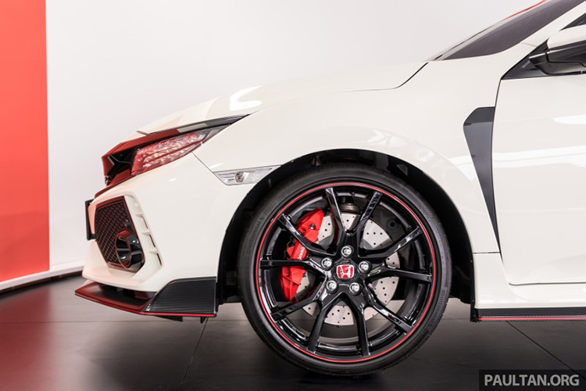 Honda Civic Type R tien ty se co mat tai VMS 2018-Hinh-5