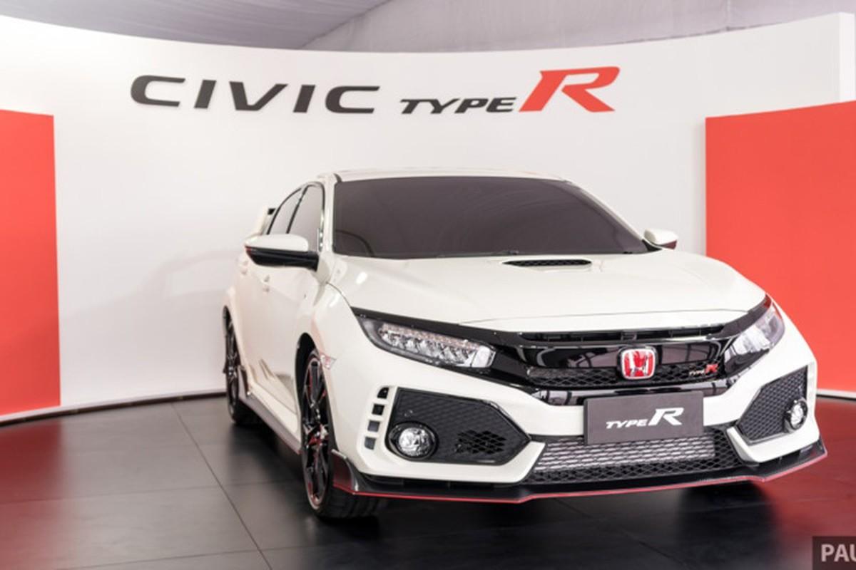 Honda Civic Type R tien ty se co mat tai VMS 2018