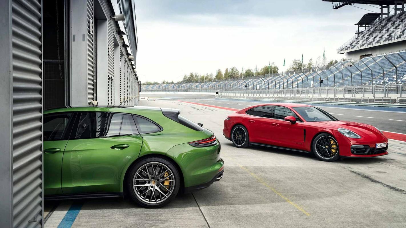 Porsche ra mat Panamera GTS va Panamera GTS Sport Turismo 2019