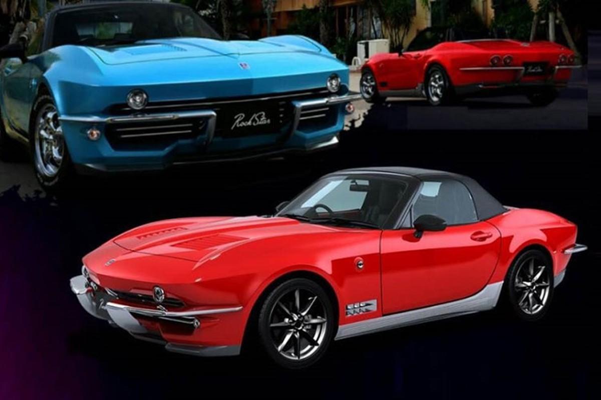 Mazda MX-5 do xe co bap Chevrolet Corvette gia 975 trieu dong-Hinh-4