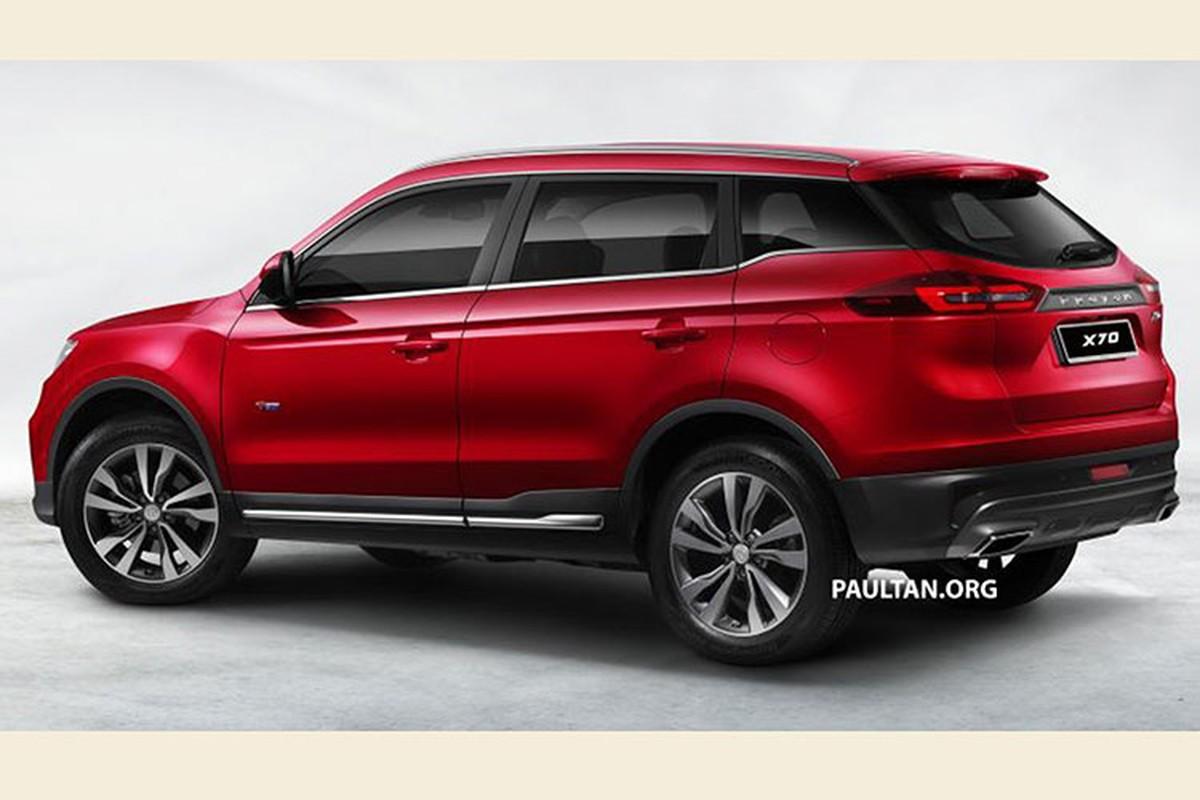 SUV 5 cho, gia re - Proton X70 2018 cua Malaysia co gi?-Hinh-2