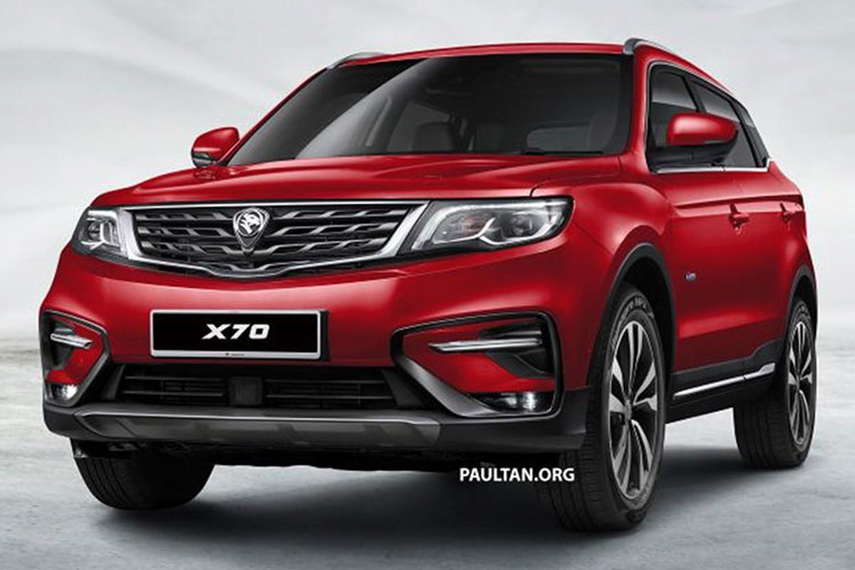 SUV 5 cho, gia re - Proton X70 2018 cua Malaysia co gi?