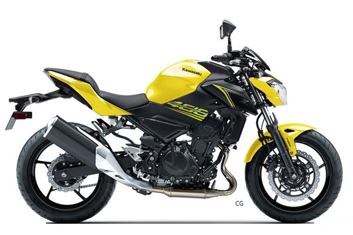 Xe moto Kawasaki Z400 phien ban 2019 san sang ra mat-Hinh-5