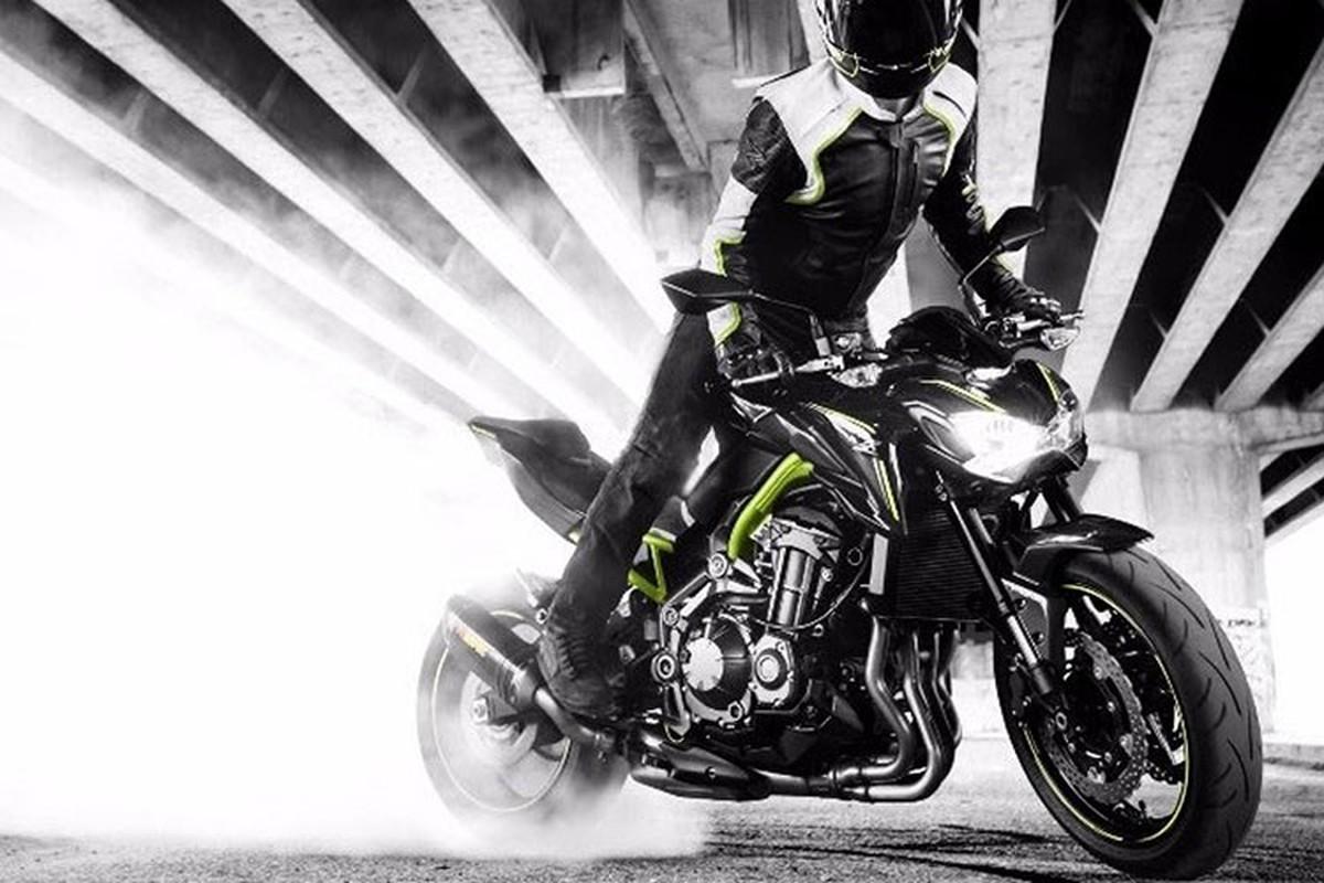 Xe moto Kawasaki Z400 phien ban 2019 san sang ra mat