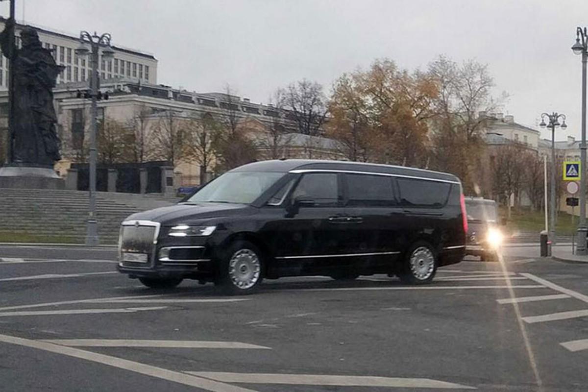 Minivan hang sang cua Tong thong Nga Vladimir Putin lan banh