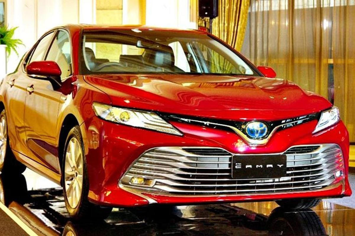 "Toyota Camry 2018 ""chot gia"" tu 1,01 ty tai Thai Lan"