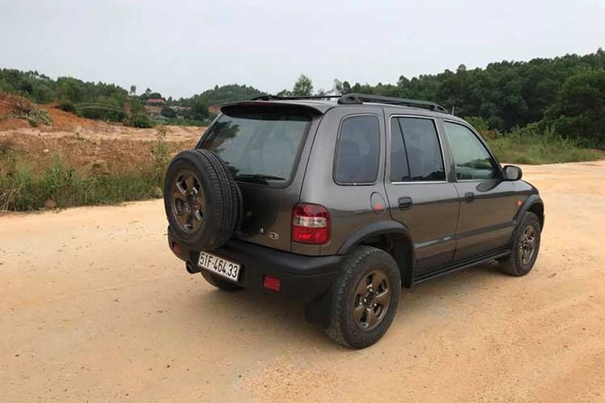 Can canh Kia Sportage 2000