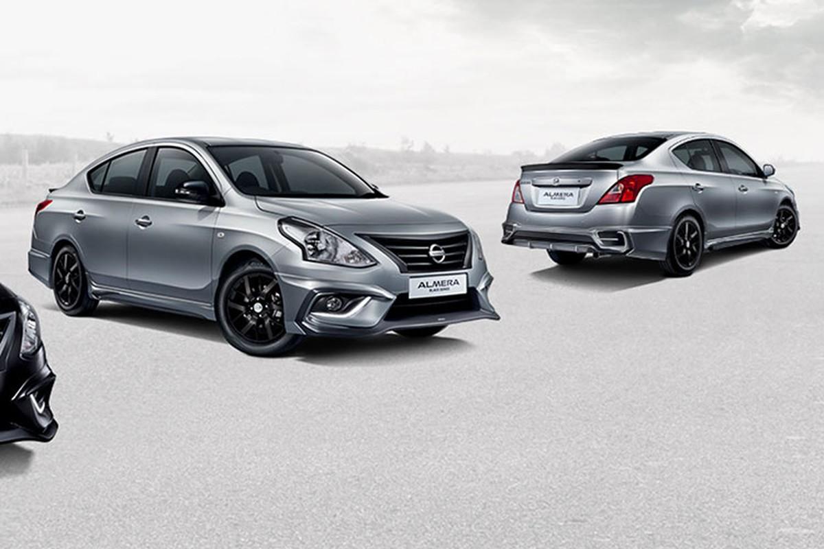 Sedan gia re Nissan Sunny co them ban Black Series moi-Hinh-2