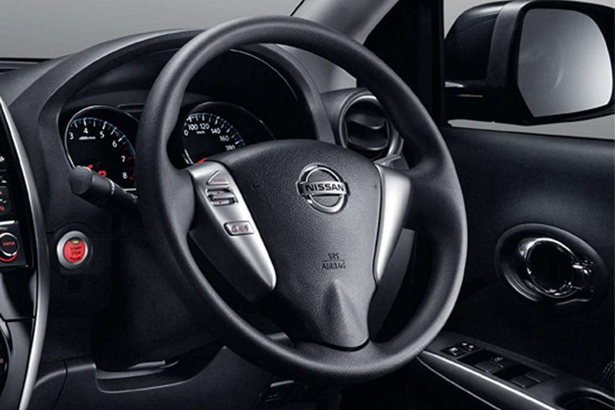 Sedan gia re Nissan Sunny co them ban Black Series moi-Hinh-6