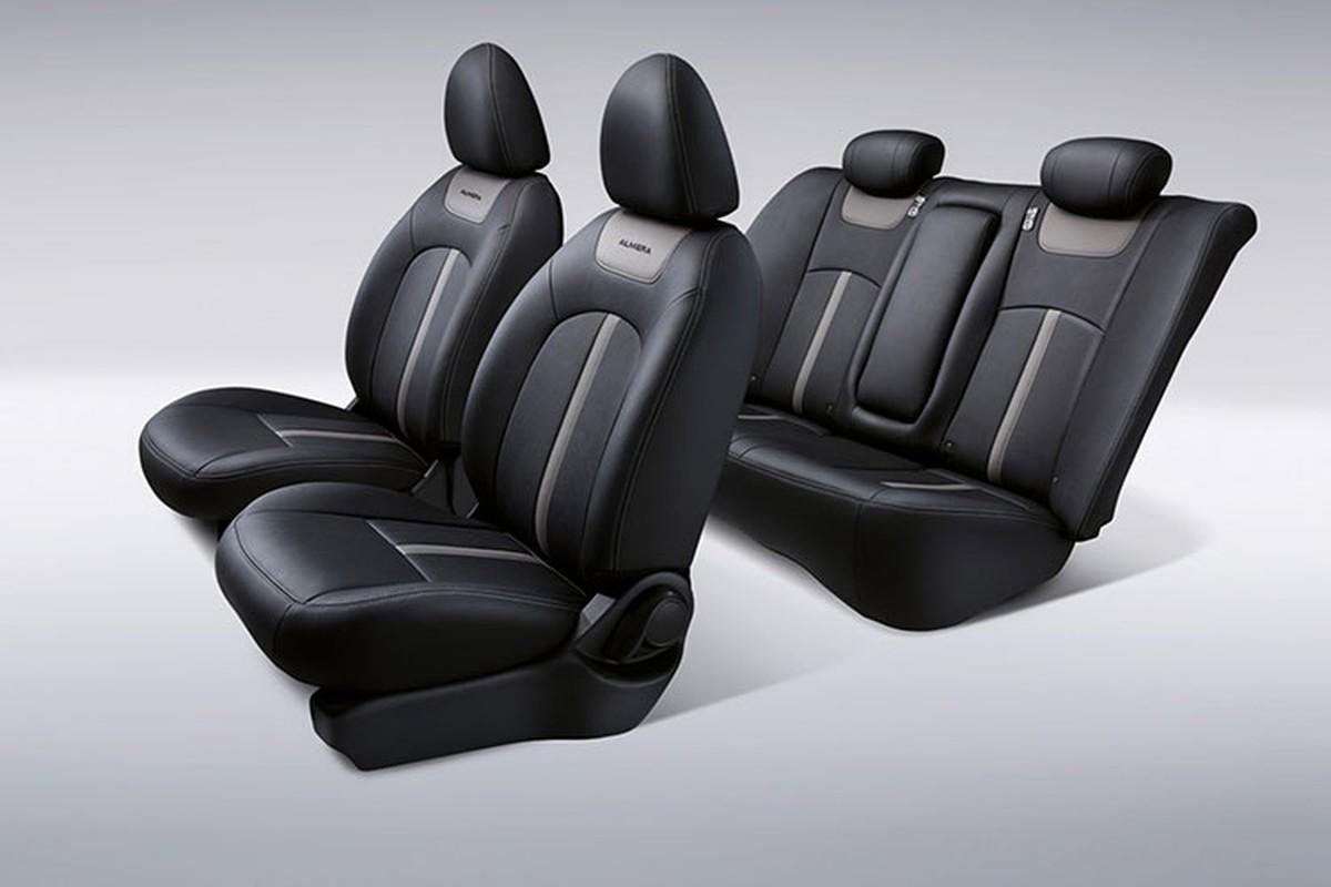 Sedan gia re Nissan Sunny co them ban Black Series moi-Hinh-8