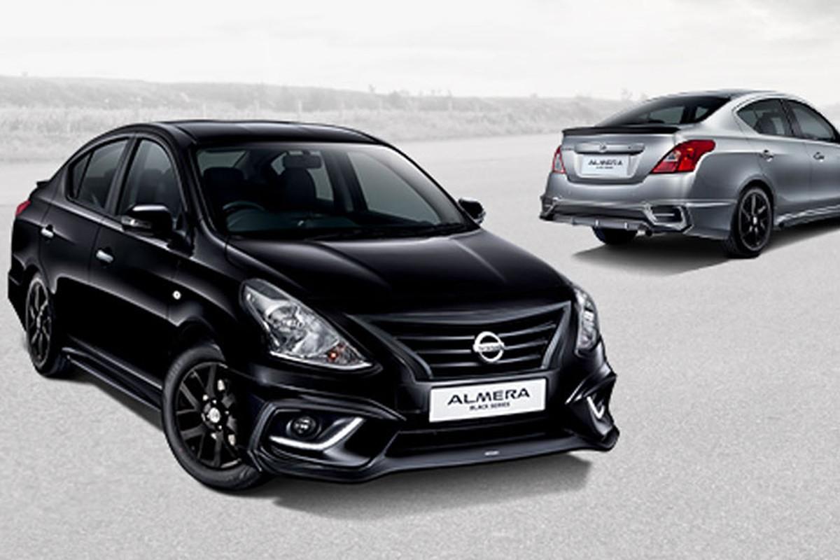 Sedan gia re Nissan Sunny co them ban Black Series moi