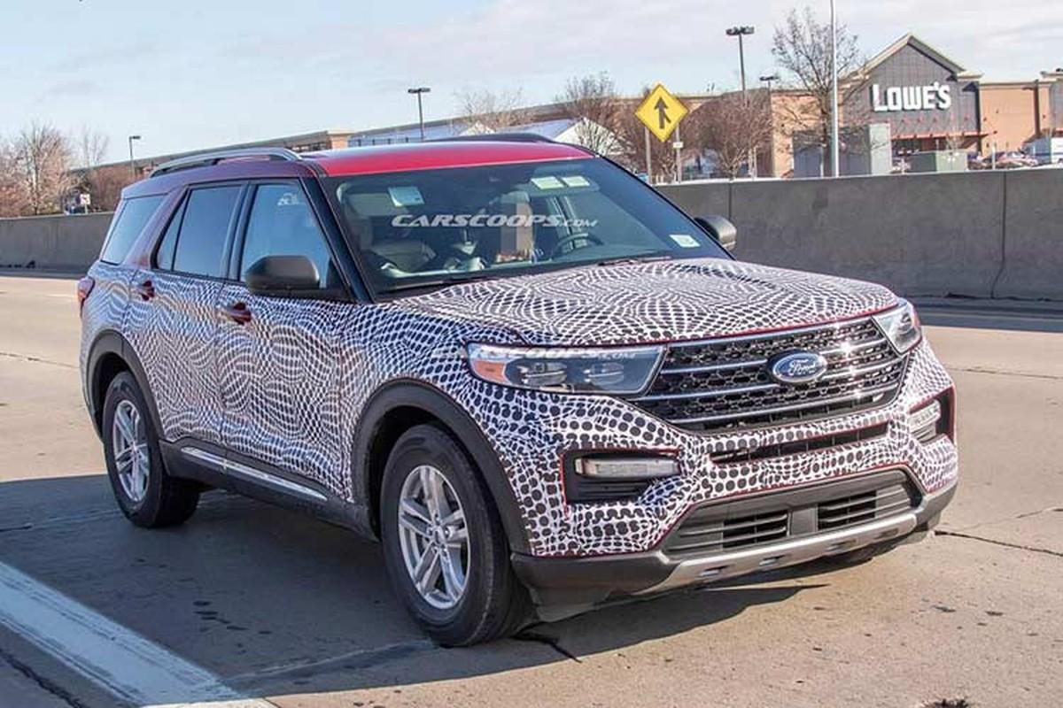 Xe Ford Explorer 2020 thiet ke nhu Toyota Highlander doi cu