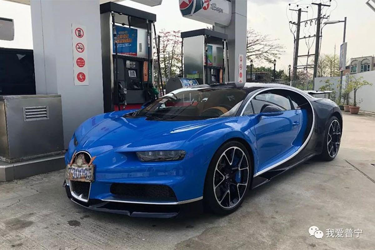 Thieu gia 9X Trung Quoc chi hon 200 ty tau Bugatti Chiron