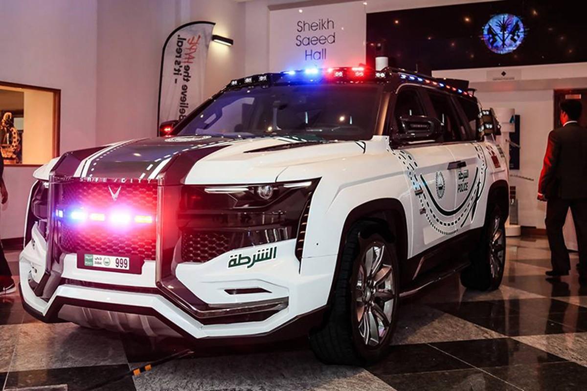 Sieu SUV Giath cua canh sat Dubai khien toi pham