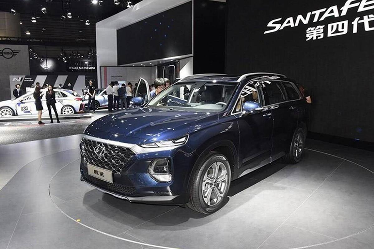 Hyundai SantaFe 2019 cam bien van tay ra mat sat Viet Nam-Hinh-13