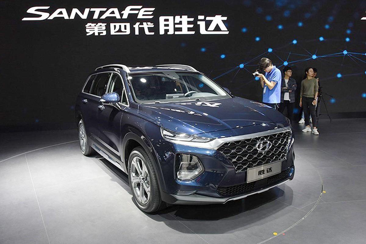 Hyundai SantaFe 2019 cam bien van tay ra mat sat Viet Nam
