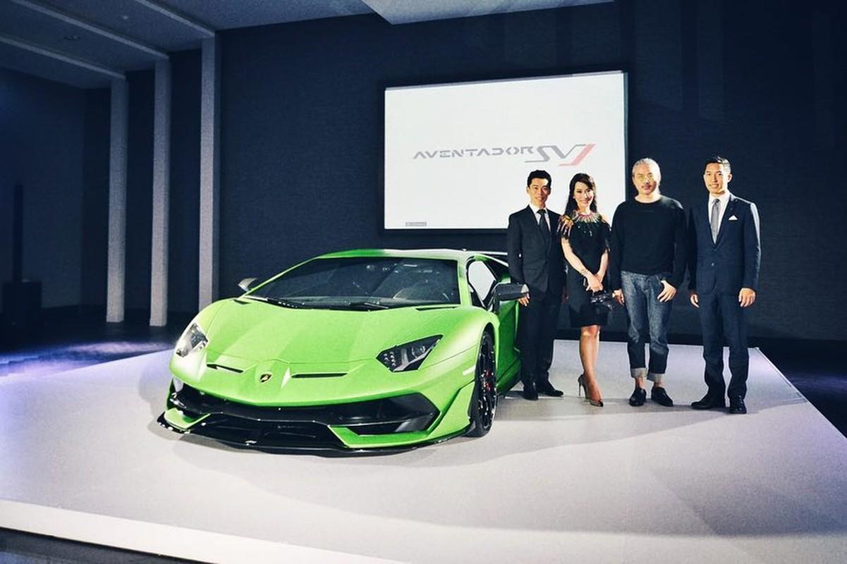 Sieu xe Lamborghini Aventador SVJ gia 35 ty tai Thai Lan?