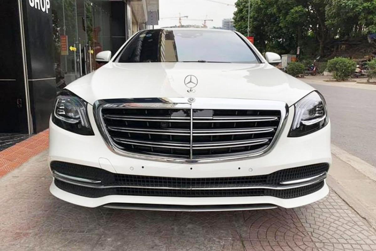 Tuan Hung tau xe sang Mercedes-Benz S-Class gia 4,8 ty-Hinh-4