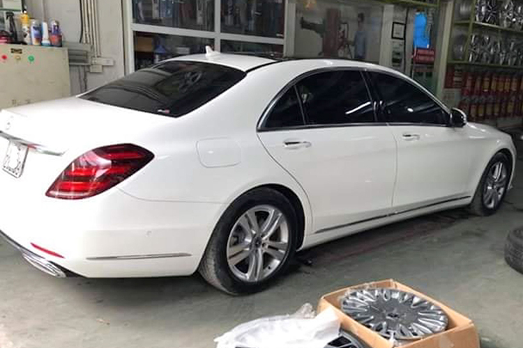 Chi 250 trieu do mam Mercedes S450L thanh Maybach o Ha Noi-Hinh-2