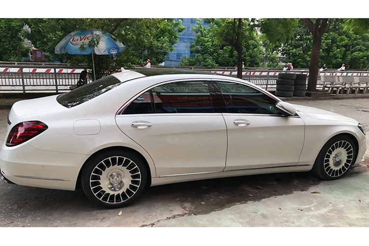 Chi 250 trieu do mam Mercedes S450L thanh Maybach o Ha Noi-Hinh-5