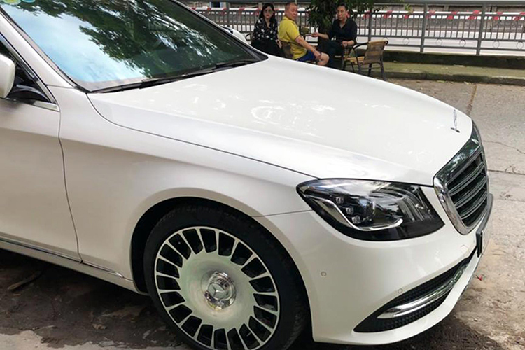 Chi 250 trieu do mam Mercedes S450L thanh Maybach o Ha Noi-Hinh-6