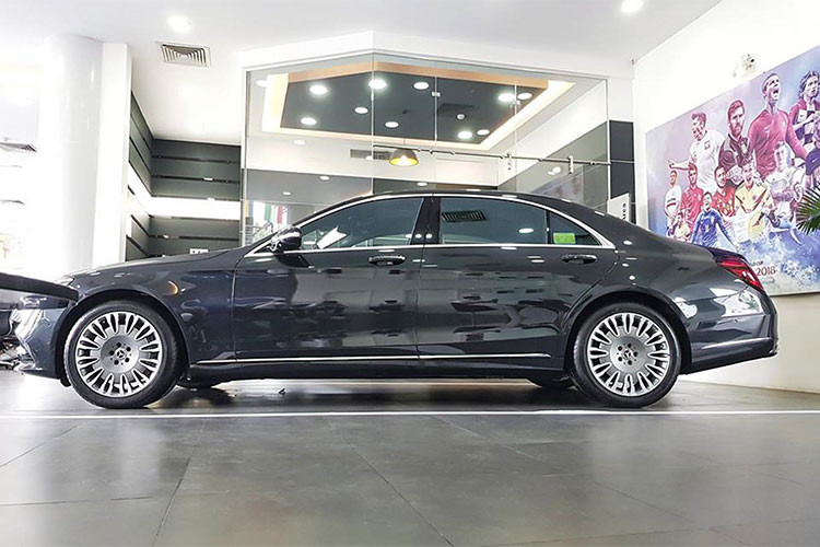 Chi 250 trieu do mam Mercedes S450L thanh Maybach o Ha Noi-Hinh-7