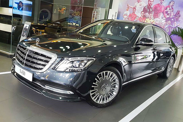 Chi 250 trieu do mam Mercedes S450L thanh Maybach o Ha Noi-Hinh-8