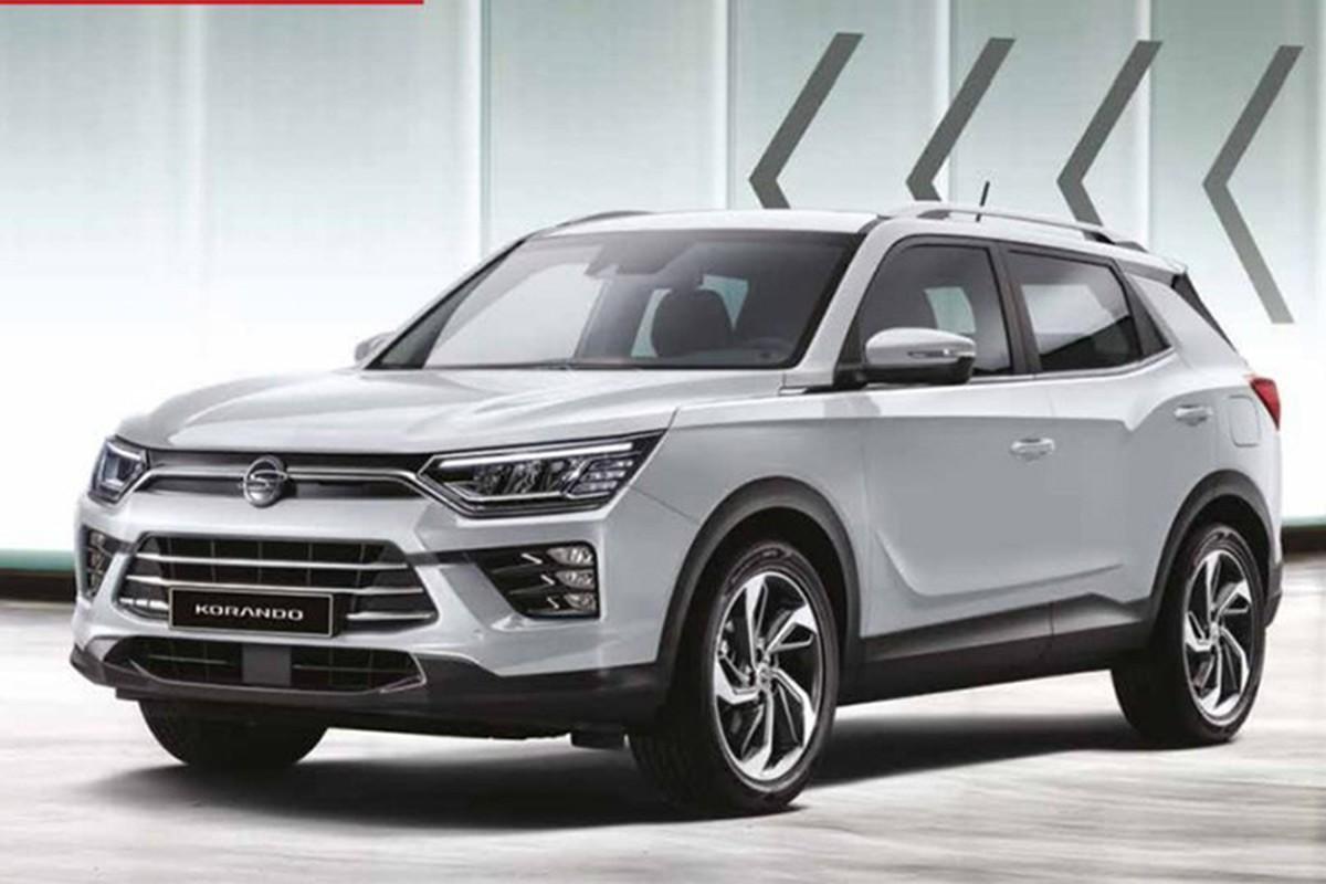 Chi tiet SsangYong Korando 2019 moi, doi thu cua Honda CR-V-Hinh-7